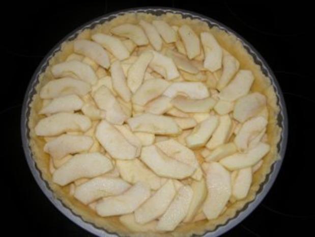 Französische Apfeltarte - Rezept - Bild Nr. 2