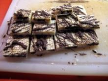 Zebra - Waffel    20 Stück - Rezept