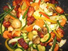 Gemüse-Wokpfanne mit krossem Halloumi-Grillkäse - Rezept - Bild Nr. 4