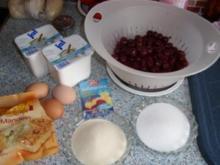 Quarkauflauf mit Kirschen - Rezept