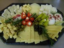 mediterrane Käseplatte - Rezept
