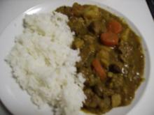 Japanisches Curry - カレーライス - Curry Rice - Rezept