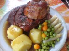 Schweinehaxe mit Bierkruste - Rezept