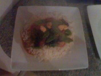 Rotes Thai Curry - Rezept