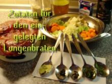 Eingelegter Lungenbraten (Filetbraten) - Rezept