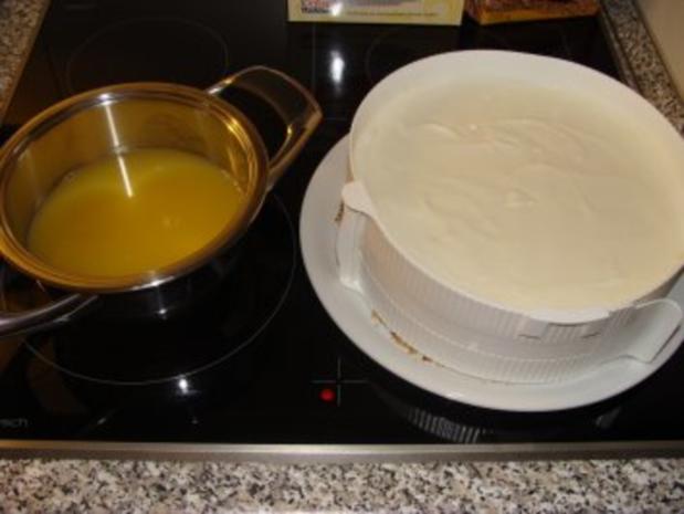 Mandarinen-Joghurt-Torte - Rezept - Bild Nr. 9