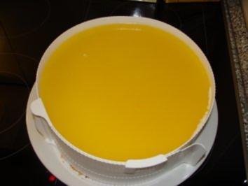 Rezept: Mandarinen-Joghurt-Torte