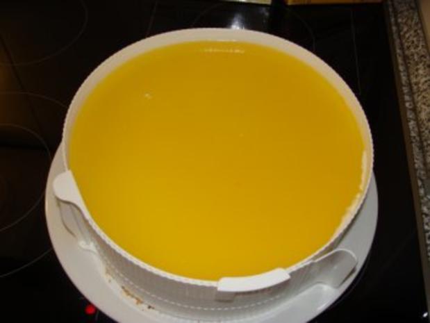 Mandarinen-Joghurt-Torte - Rezept