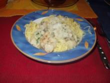 Spagetti selbstgemacht con frutti di mare - Rezept