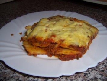 Kartoffel - Bolognese - Auflauf - Rezept