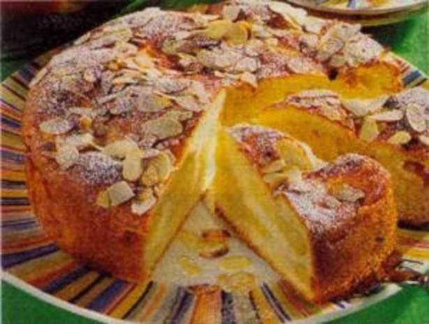 Apfelkuchen Besonders Lecker Mit Frischen Apfeln Aus Dem Garten