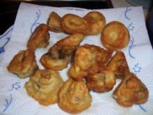 Snack...Champignons mit Knoblauch-Dip - Rezept