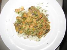 Putenpfanne mit Reis - Rezept