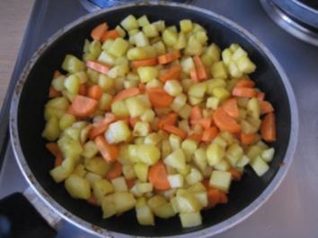 Herzhafte Hackfleisch-Gemüse-Pfanne - Rezept