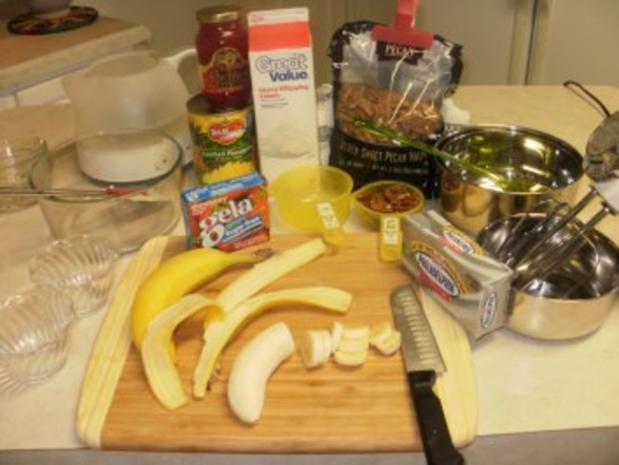 Obstsalat - Obst mit Schlagsahne und Nuesse - Einfach lecker - Rezept - Bild Nr. 2