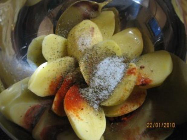 Ofen-Kartoffeln country potatoes - Rezept - Bild Nr. 3