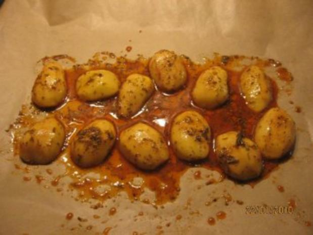 Ofen-Kartoffeln country potatoes - Rezept - Bild Nr. 5