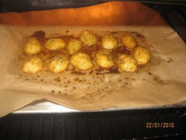 Ofen-Kartoffeln country potatoes - Rezept - Bild Nr. 6