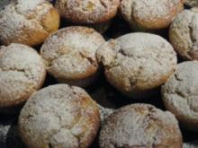 Weiße Schoko-Muffins mit Pfirsichen - Rezept