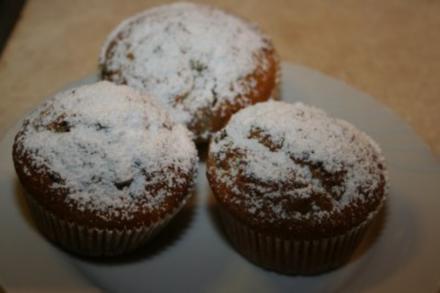 Muffins: Blaubeermuffins - Rezept
