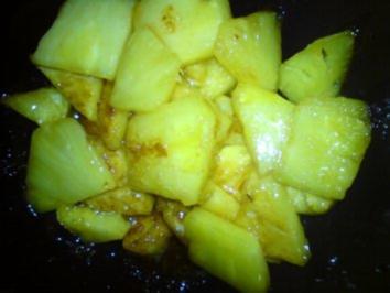 Karamelisierte Ananas - Rezept