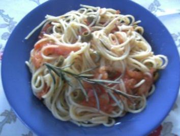 Rezept: Spagetti in Tomaten-