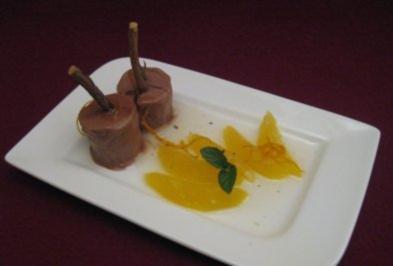 Kardamom-Orangen in Wein-Karamell - Rezept