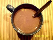 Heißgetränk:Eierlikör Orange,Schoko & Nougat - Rezept