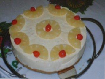 Rezept: Ananas-Schoko-Torte