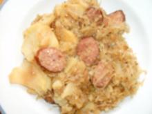 Sauerkrautpfanne - Rezept