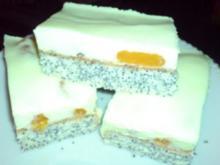 Mandarinen-Mohnbiskuit-Kuchen - Rezept