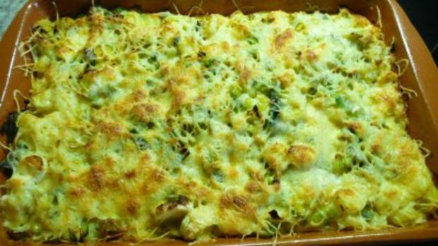 Vegetarischer Kartoffel -Lauch -Gratin - Rezept - Bild Nr. 2
