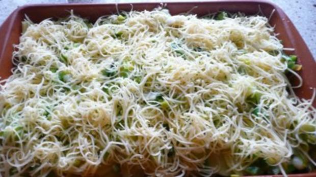 Vegetarischer Kartoffel -Lauch -Gratin - Rezept - Bild Nr. 5