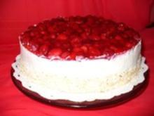 Himbeer-Joghurt-Sahnetorte - Rezept - Bild Nr. 2