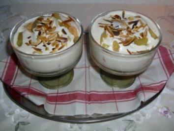 Lebkuchen-Tiramisu mit Weißweinäpfeln - Rezept