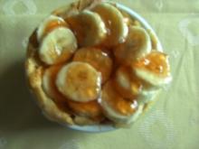 Desserts: Bananentörtchen mit Quittengelee von Heidibirn - Rezept