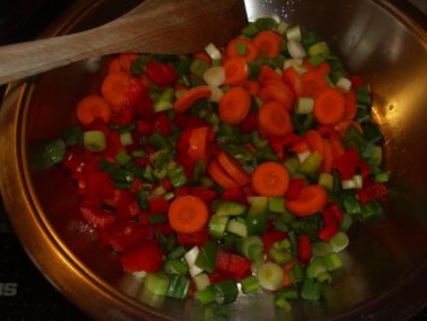 Pfannengerichte: Curry - Nudel - Pfanne - Rezept - Bild Nr. 3