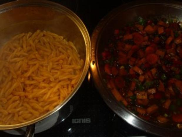 Pfannengerichte: Curry - Nudel - Pfanne - Rezept - Bild Nr. 4