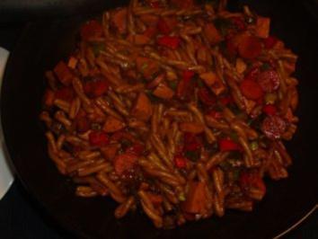 Rezept: Pfannengerichte: Curry - Nudel - Pfanne