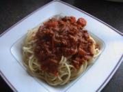 Spagetti Bolognese - Rezept