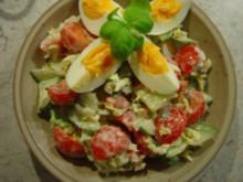 Einfach nur ein Salat... sehr kalorienarm - Rezept