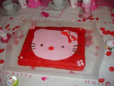 Hello Kitty Torte - Rezept - Bild Nr. 2