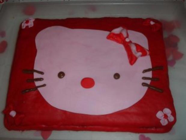Hello Kitty Torte - Rezept - Bild Nr. 3