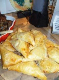 Rezept: Blätterteig-Espanadas mit Chorizo Füllung