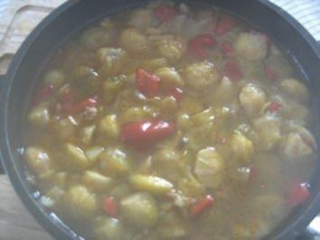 Feuriges Paprika-Kohl-Süppchen - Rezept