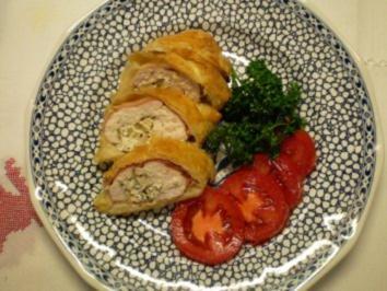 Hähnchenbrust mit Ziegenkäse - Rezept