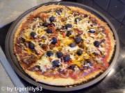 Pizza à la casa - Rezept