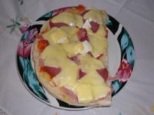 Fladenbrotpizza - Rezept