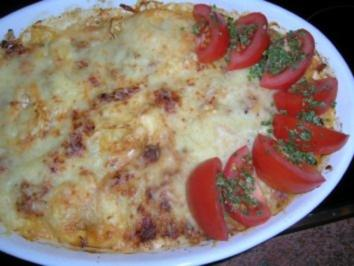 Tortellini-Thunfisch-Auflauf (heute mußte es bei mir wirklich mal schnell gehen) - Rezept