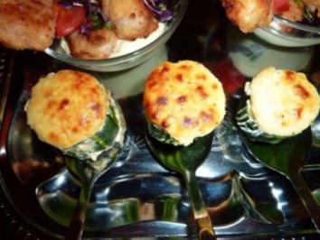 Zucchini-Soufflees - Rezept